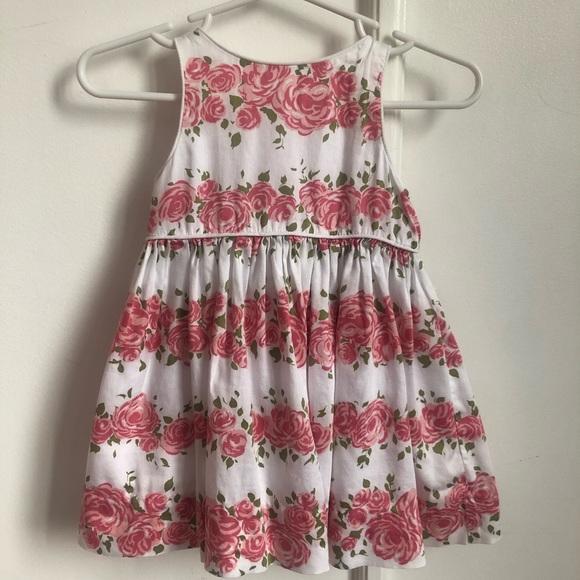 Dresses Nwt 2t Janie And Jack Pink Rose Dress